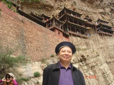China - Shanxi วิหารลอยฟ้า วัดเสวียนคงซื่อ เมืองต้าถง มณฑลซานซี ประเทศจีน