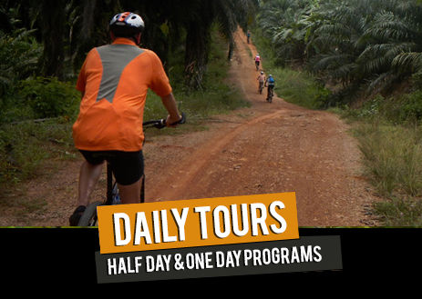 Thailand bicycle touring