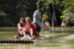 Fullday Trip  Khao Sok Bamboo Rafting