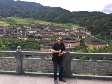 China - ซัวเถา, บ้านดินถู่โหลว อำเภอหยงติ้ง มณฑลฮกเกี้ยน