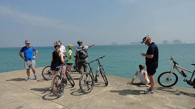 Koh Yao Noi bike tour and Krabi bike tour