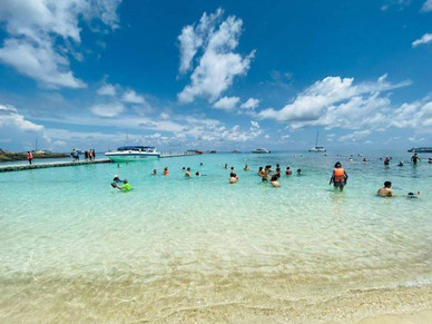 Raya Island and coral island tour by Private speedboat