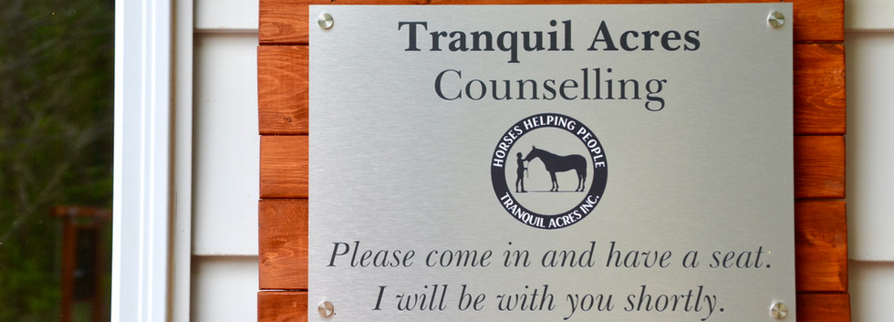 Tranquil Acres Counselling Office