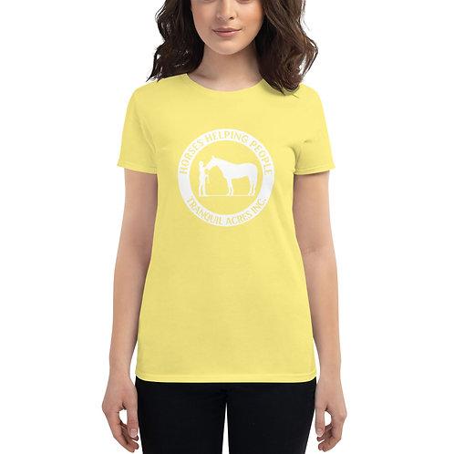The TA Women's short sleeve t-shirt
