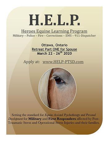H.E.L.P. Retreat - Ottawa Spouse 03 2020