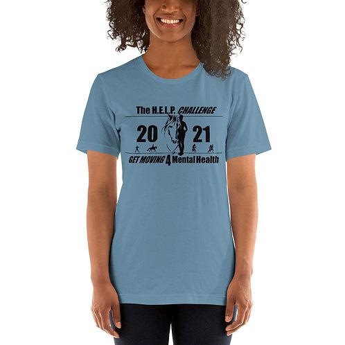 The H.E.L.P. Challenge - Short-Sleeve Unisex T-Shirt