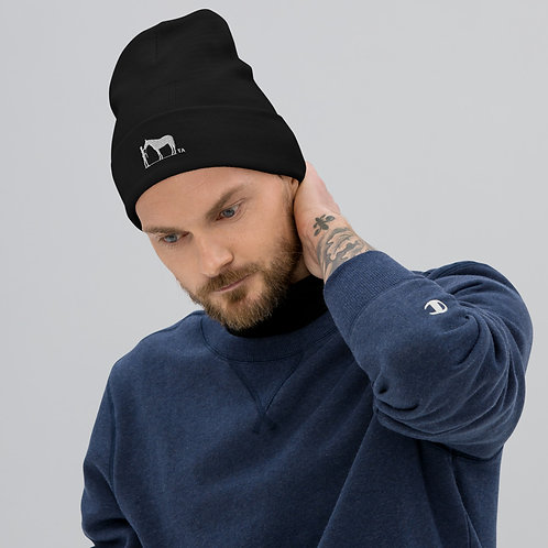 The TA Embroidered Beanie