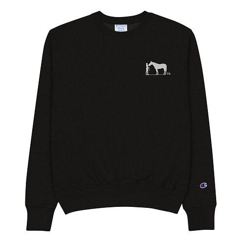 TA- Champion Sweatshirt - Embroidered