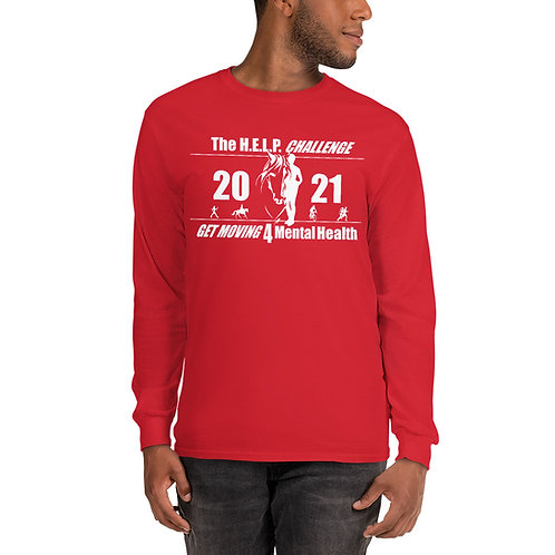 The H.E.L.P. Challenge 2021 - Men's Long Sleeve Shirt