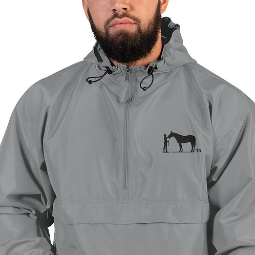 TA- Embroidered Champion Packable Jacket