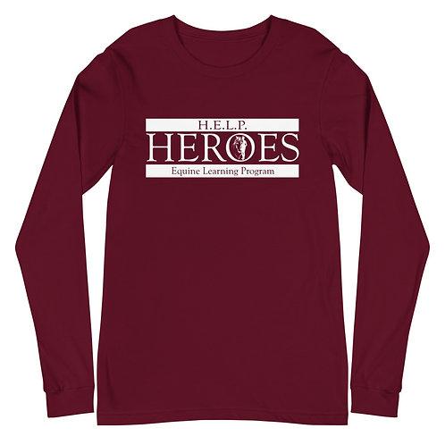 HEROES - Unisex Long Sleeve Tee