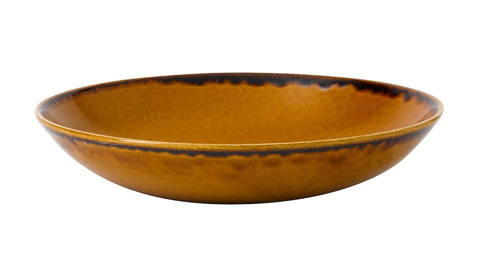"""Harvest Brown Coupe Bowl HVBREVB91 24.8cm 93⁄4"""" 113.6cl 40oz Ctn Qty 12"""