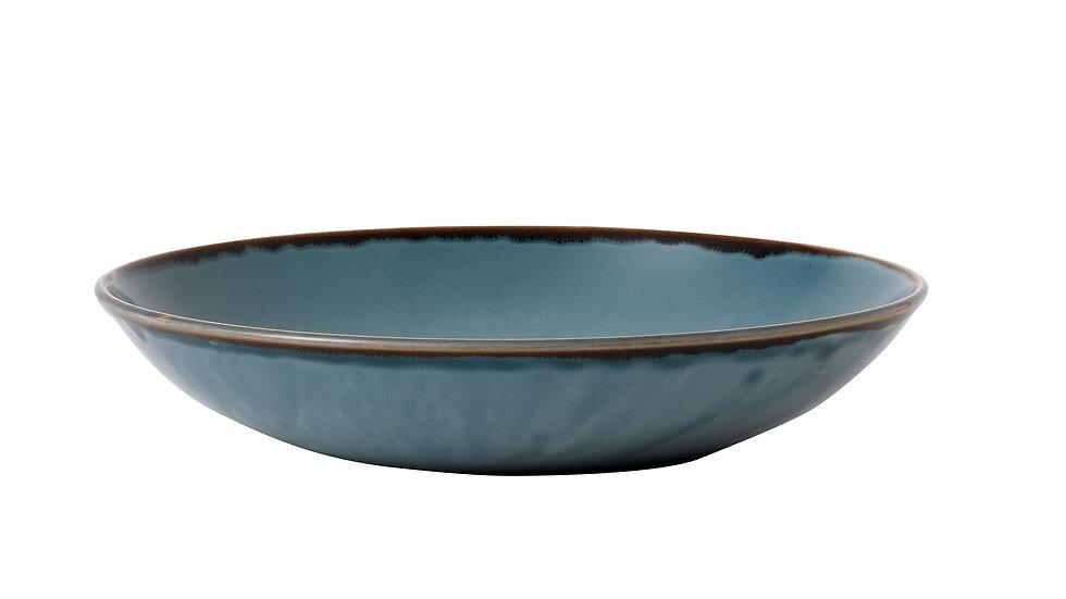 "Harvest Blue Coupe Bowl HVBLEVB91 24.8cm 93⁄4"" 113.6cl 40oz Ctn Qty 12"