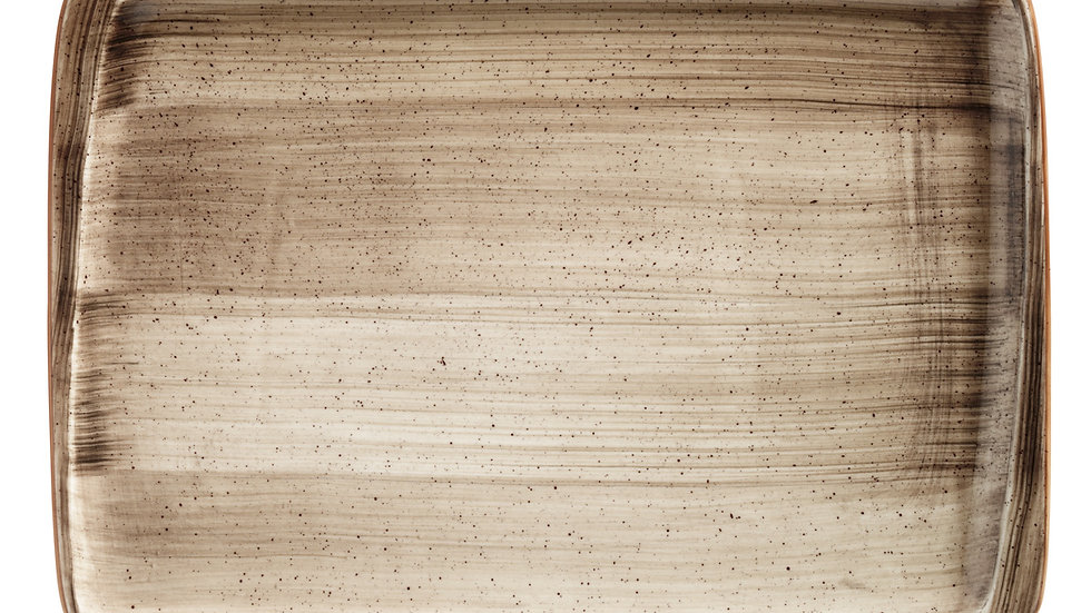 Bonna, BANDEJA RECTANGULAR TERRAIN MOOVE 23x16cm. PACK 12 UNIDADES