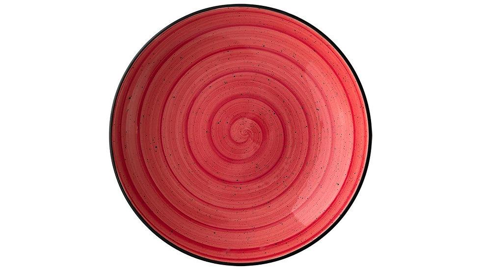 Bonna, PLATO HONDO GOURMET PASSION 100cl - ø23x4cm. PACK 6 UNIDADES