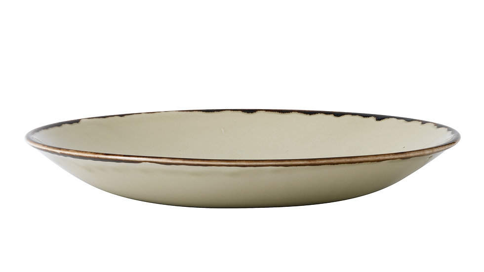 """Harvest Linen Deep Coupe Plate HVLIPD271 28.1cm 11"""" H 3.7cm Ctn Qty 12"""
