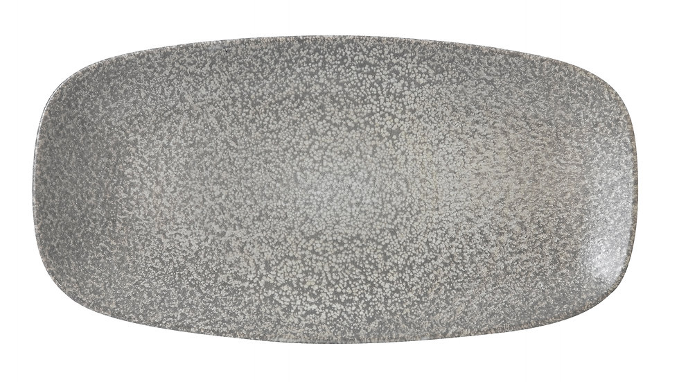 "Evo Origins Natural Grey Chefs' Oblong Plate EOGYXO111 29.8cm x 15.3cm 113⁄4""x 6"