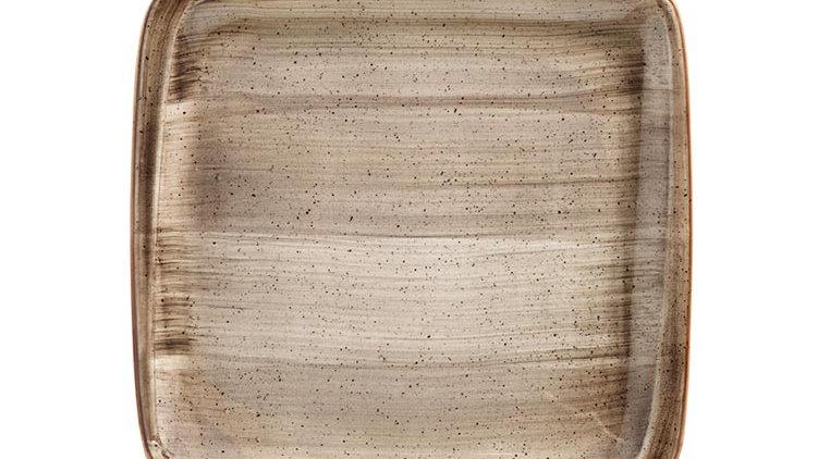 Bonna, PLATO LLANO TERRAIN MOOVE 27x25cm. PACK 6 UNIDADES