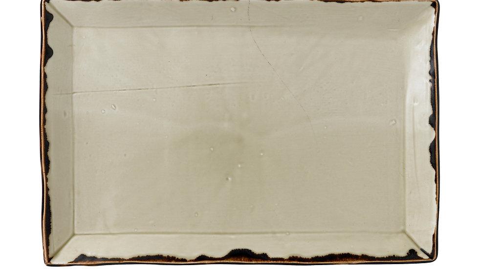 "Harvest Linen Rectangular Tray HVLIDR341 34.5cm x 23.3cm 131⁄2"" x 91⁄8"" Ctn Qty"
