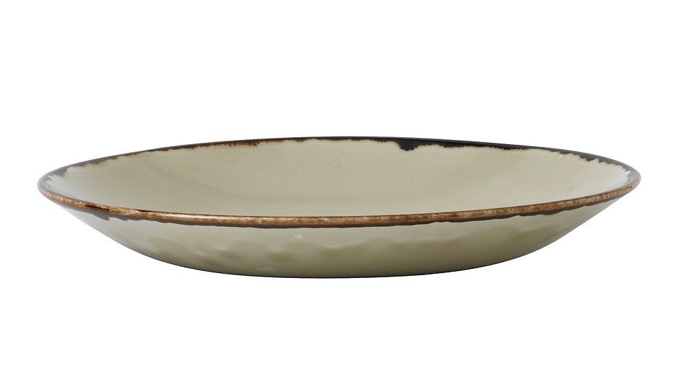 """Harvest Linen Deep Coupe Plate HVLIPD251 25.5cm 10"""" H 3.5cm Ctn Qty 12"""