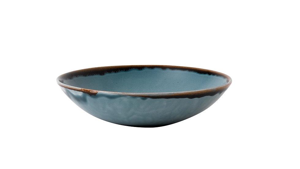 "Harvest Blue Coupe Bowl HVBLEVB71 18.2cm 71⁄4"" 42.6cl 15oz Ctn Qty 12"