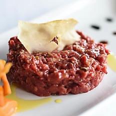 Steak tar-tar de solomillo (250 gr. de solomillo cortado a cuchillo)