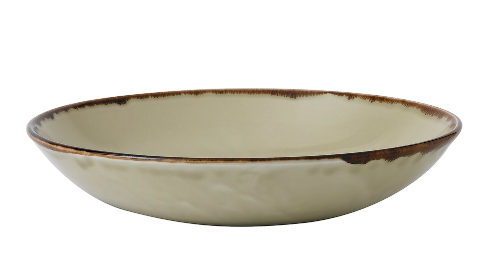 "Harvest Linen Coupe Bowl HVLIEVB91 24.8cm 93⁄4"" 113.6cl 40oz Ctn Qty 12"