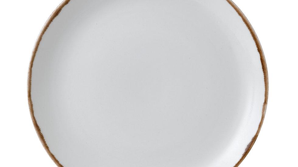 "Harvest Natural Coupe Plate HVNAEV111 28.8cm 111⁄4"" Ctn Qty 12"
