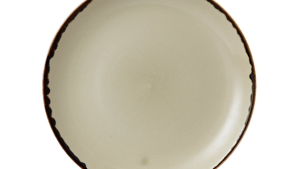 """Harvest Linen Coupe Plate HVLIEVP81 21.7cm 82⁄3"""" Ctn Qty 12"""