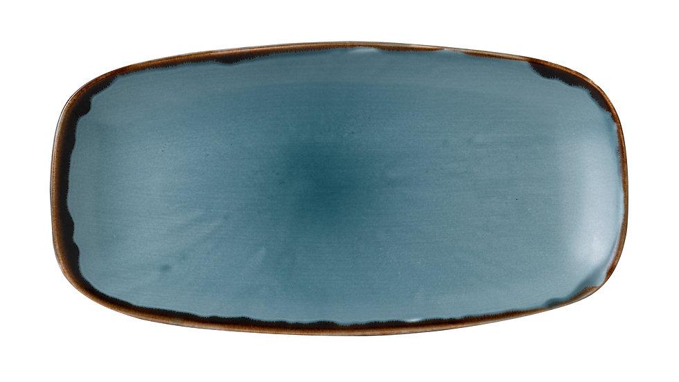 """Harvest Blue Chefs' Oblong Plate HVBLXO111 29.8cm x 15.3cm 113⁄4""""x 6"""" Ctn Qty 12"""