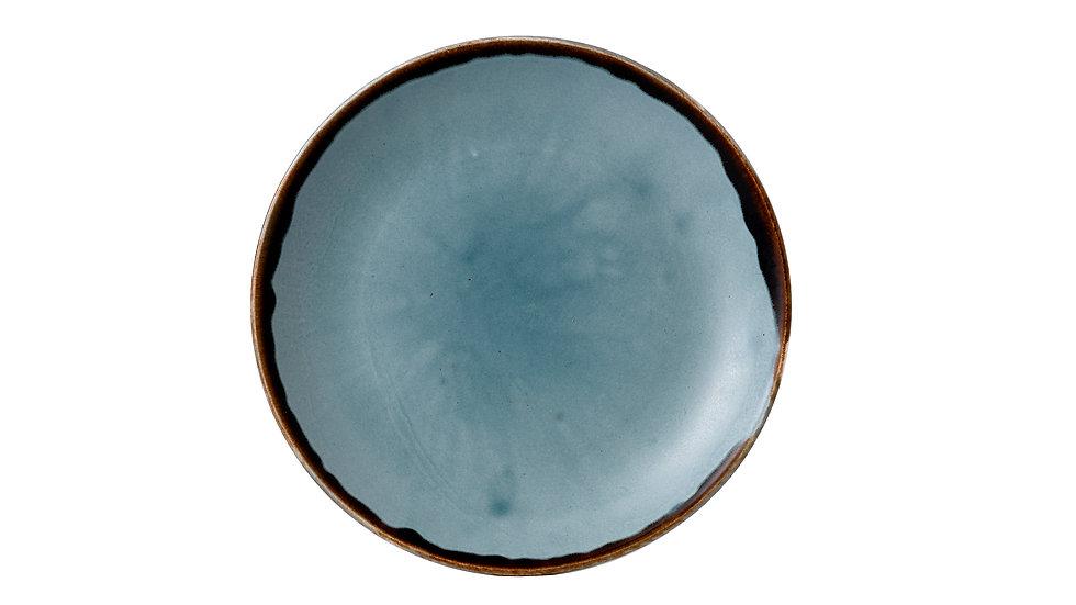"""Harvest Blue Coupe Plate HVBLEVP61 16.5cm 61⁄2"""" Ctn Qty 12"""