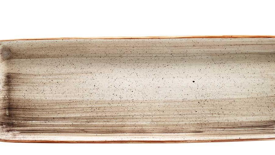 Bonna, BANDEJA RECTANGULAR TERRAIN MOOVE 48x15cm. PACK 6 UNIDADES