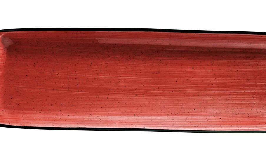 Bonna, BANDEJA RECTANGULAR PASSION MOOVE 48x15cm. PACK 6 UNIDADES