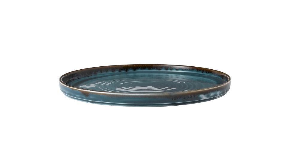 """Harvest Blue Walled Plate HVBLWP261 26cm 101⁄4"""" Ctn Qty 6"""