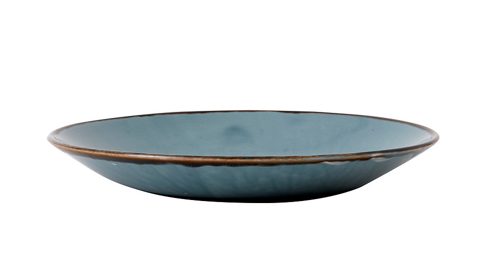 """Harvest Blue Deep Coupe Plate HVBLPD251 25.5cm 10"""" H 3.5cm Ctn Qty 12"""