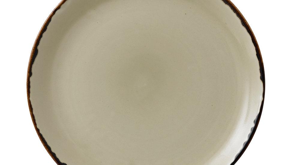 """Harvest Linen Coupe Plate HVLIEV111 28.8cm 111⁄4"""" Ctn Qty 12"""