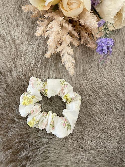 Scrunchie Floral Lime