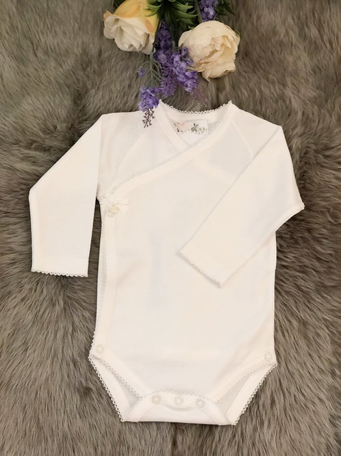 Body Cross White Bow