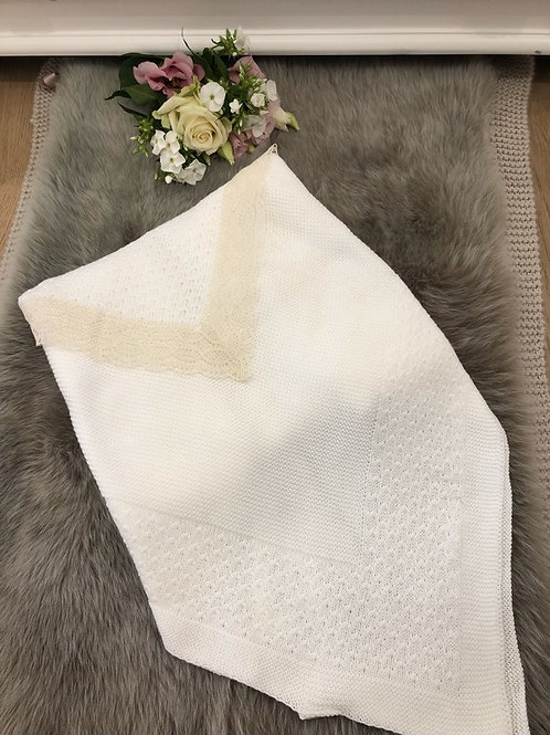 Luxury Cream Blanket