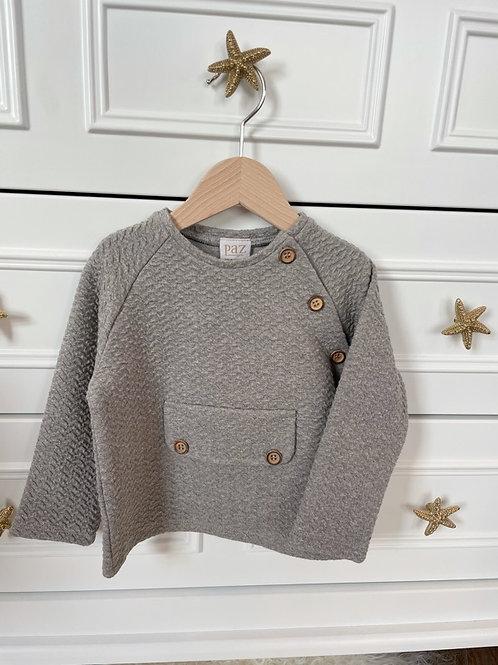 Paz Jersey Sweater Grey