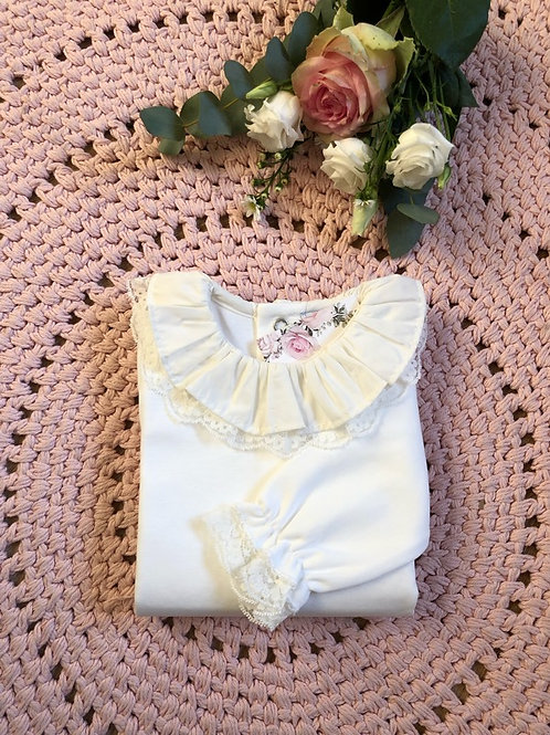 Body Ivory Double Lace