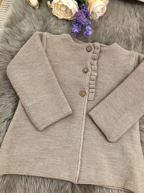 Knitted Beige Coat