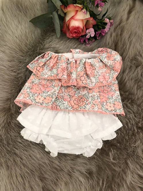 Doll Set Floral White