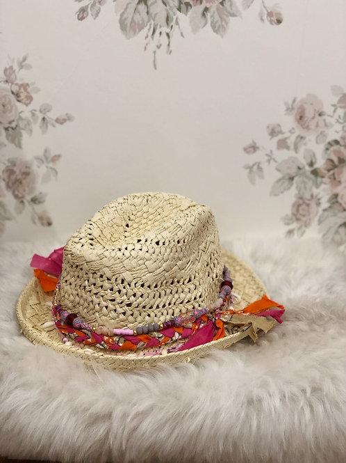Boho Hat Pink