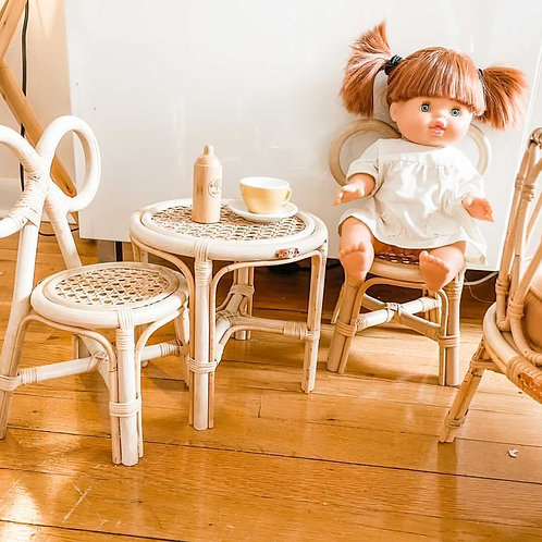 Doll Bow Chair & Table
