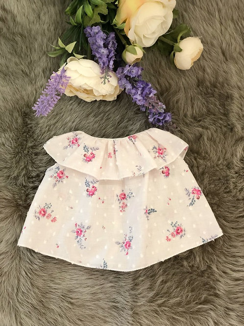 Doll Dress Lily Floral