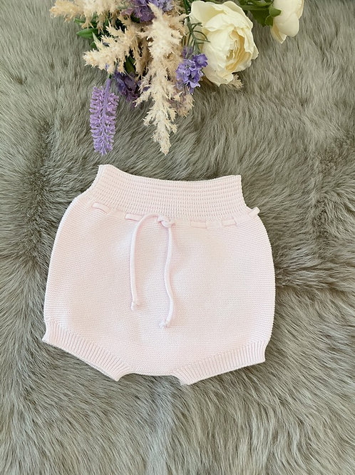 Knitted Pink Bloomer