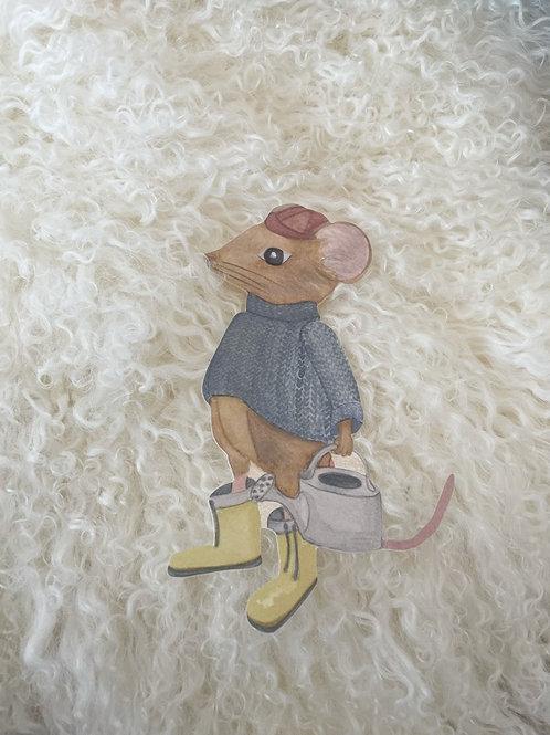 Wallsticker Mouse Frank