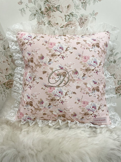 Personalised Cushion Lace