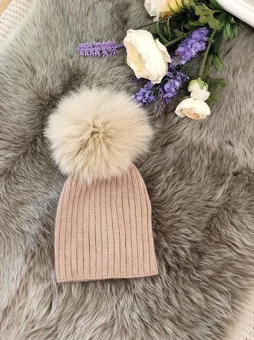 Pompom Hat Angora